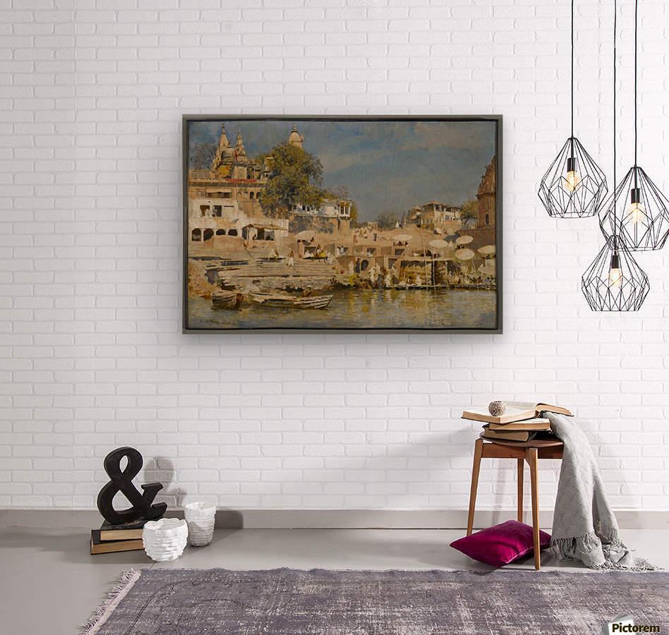 Indian bath  Wood print