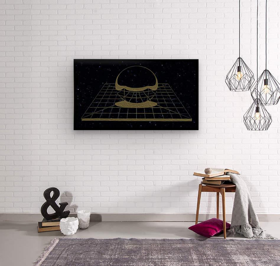 Simple Reality  Wood print