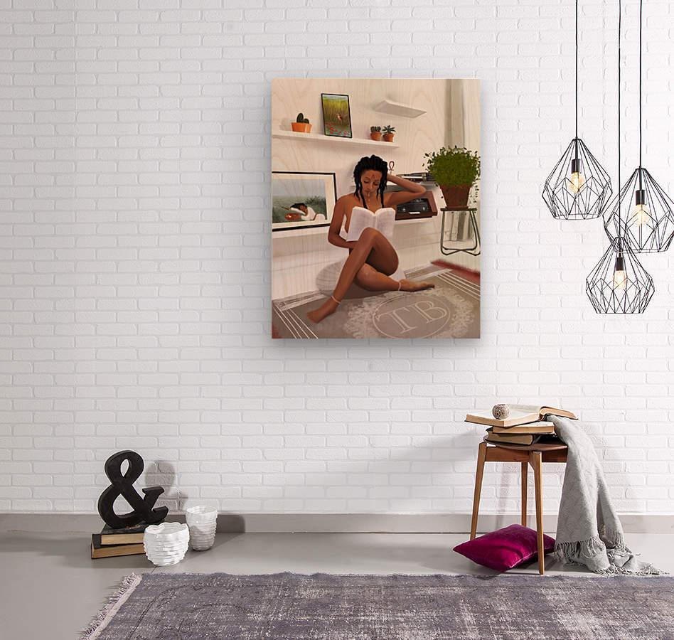 Self Love  Wood print