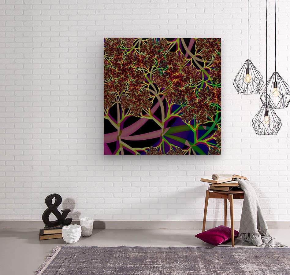 Fractal_Vegetation_Theme  Wood print
