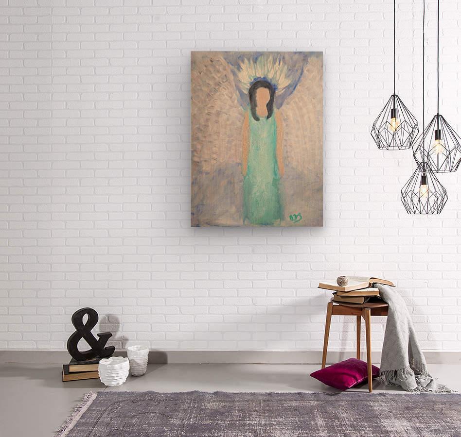 Belonging to the Angels  Wood print