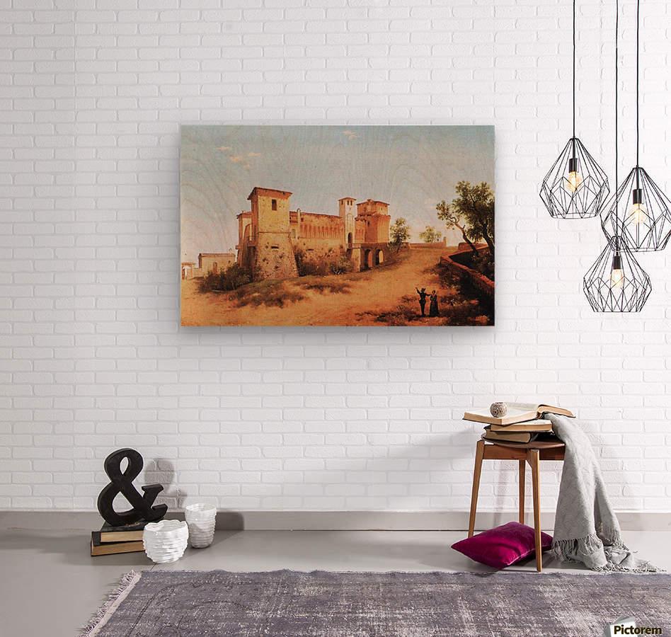 Castello di Felino  Wood print