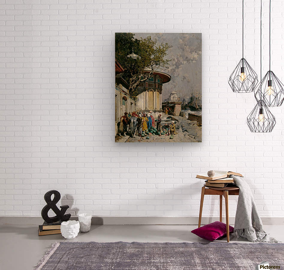 Fontana turca  Wood print