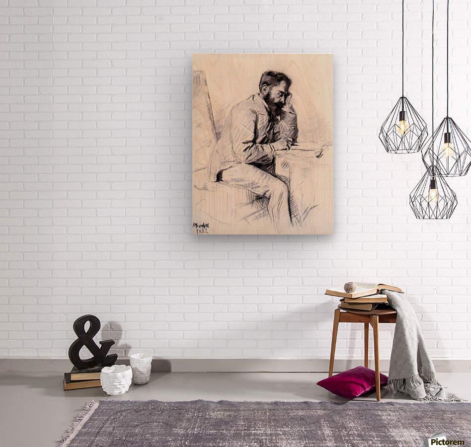 Charles de Toulouse Lautrec by Toulouse-Lautrec  Wood print