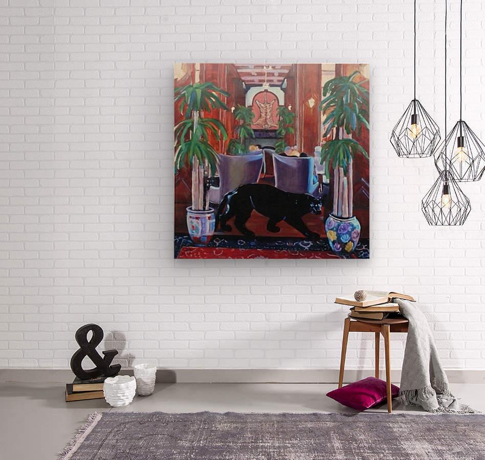Bengal Lounge  Wood print