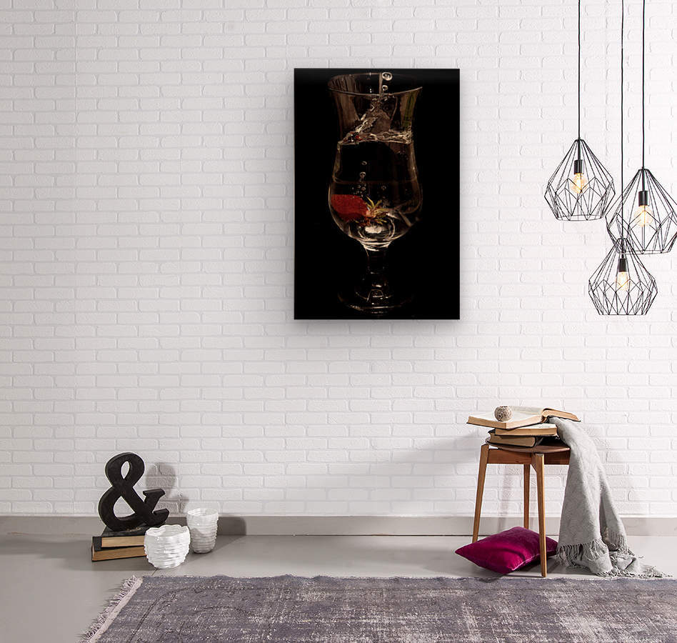 Tempete  Wood print