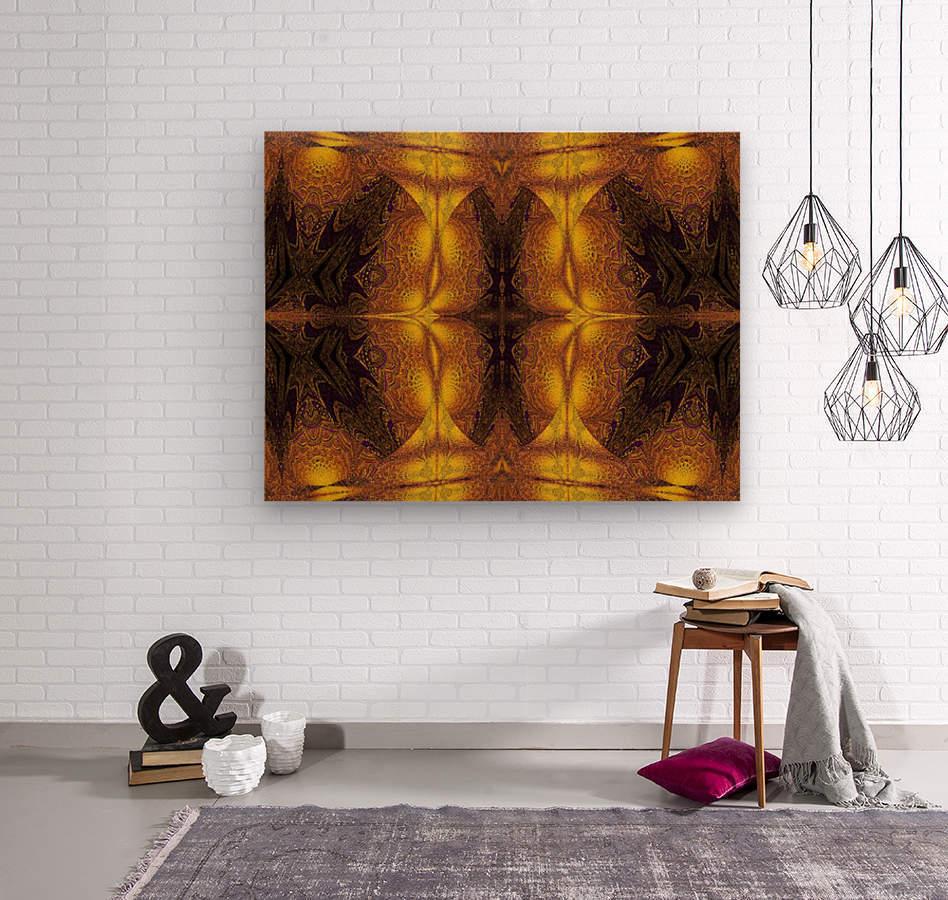 Spiritual Sunshine  22  Wood print