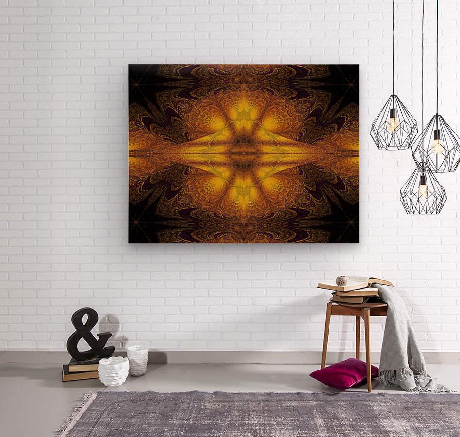 Spiritual Sunshine  23  Wood print