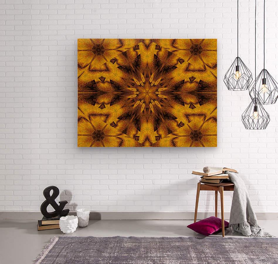 Spiritual Sunshine  31  Wood print