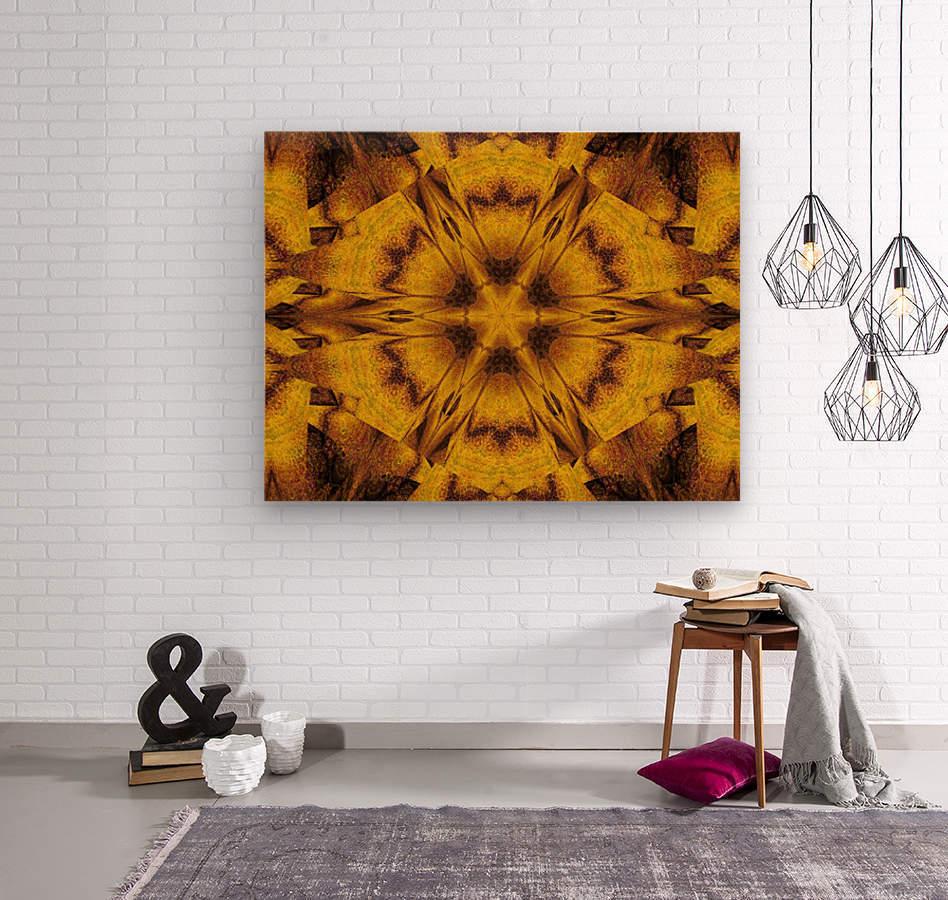 Spiritual Sunshine  39  Wood print