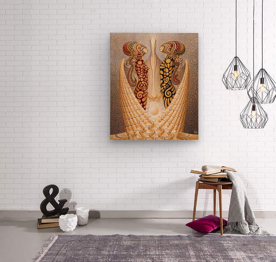 DEUS_1_0  Wood print