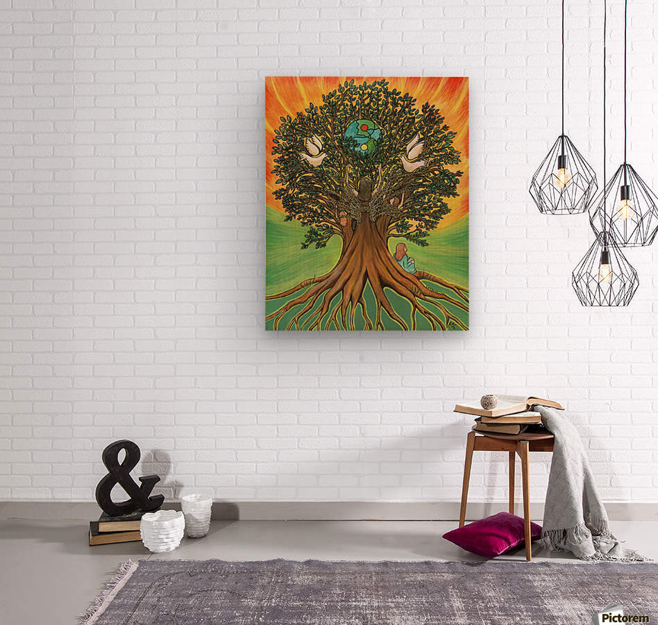 Rooted In The Tree Of Humanity  Wood print