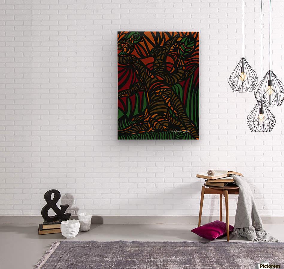 Tree Of Illusions  Wood print