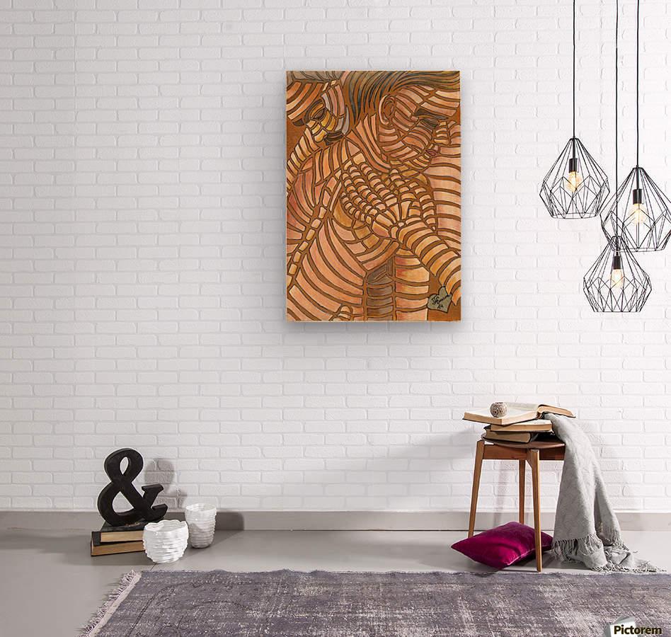 Receive  Wood print