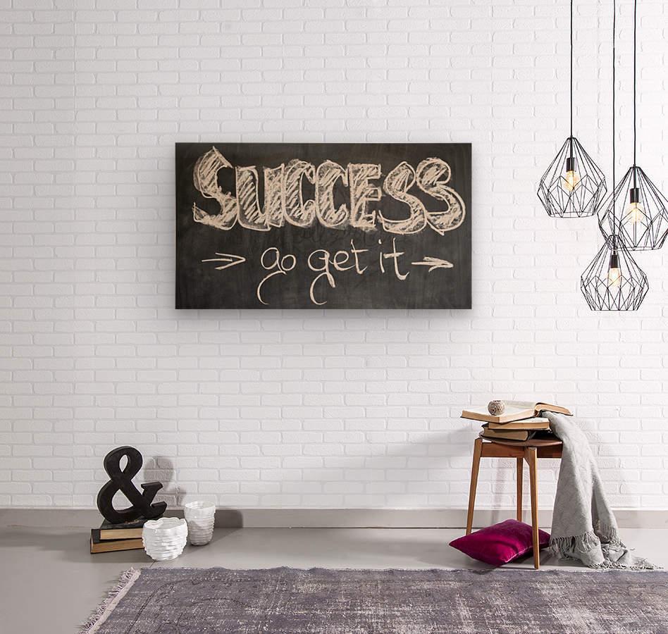 Success Hunters  Wood print
