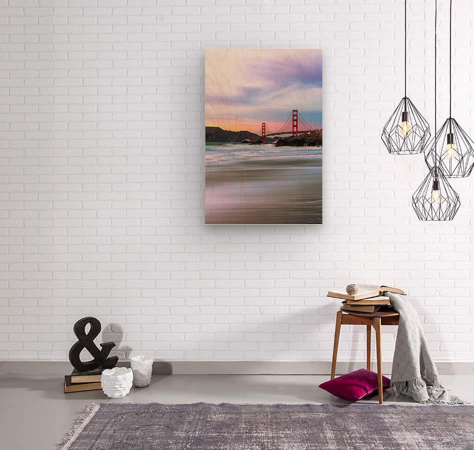 Symphony of Light  Wood print