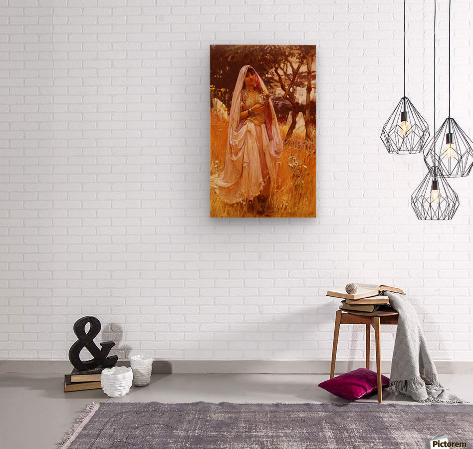 Campagne D Algiers  Wood print