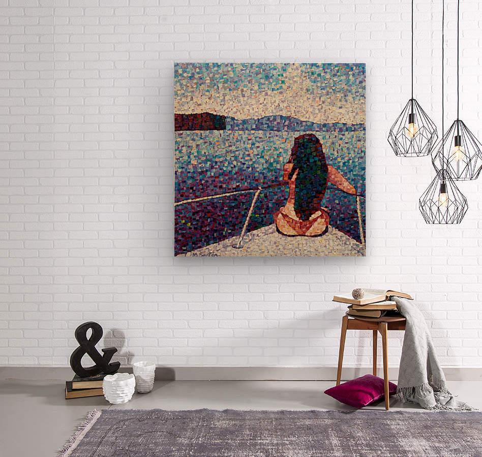Bella  Wood print