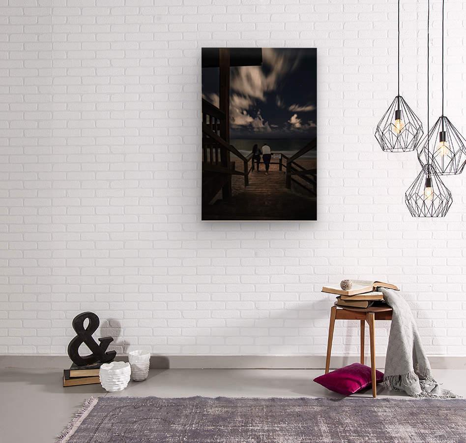 Midnight Love  1  Wood print