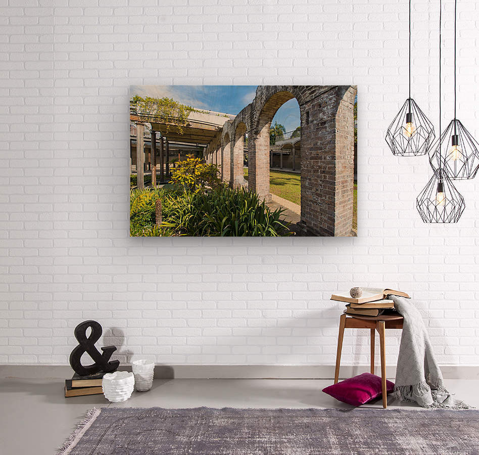Paddington Reservoir gardens  Wood print