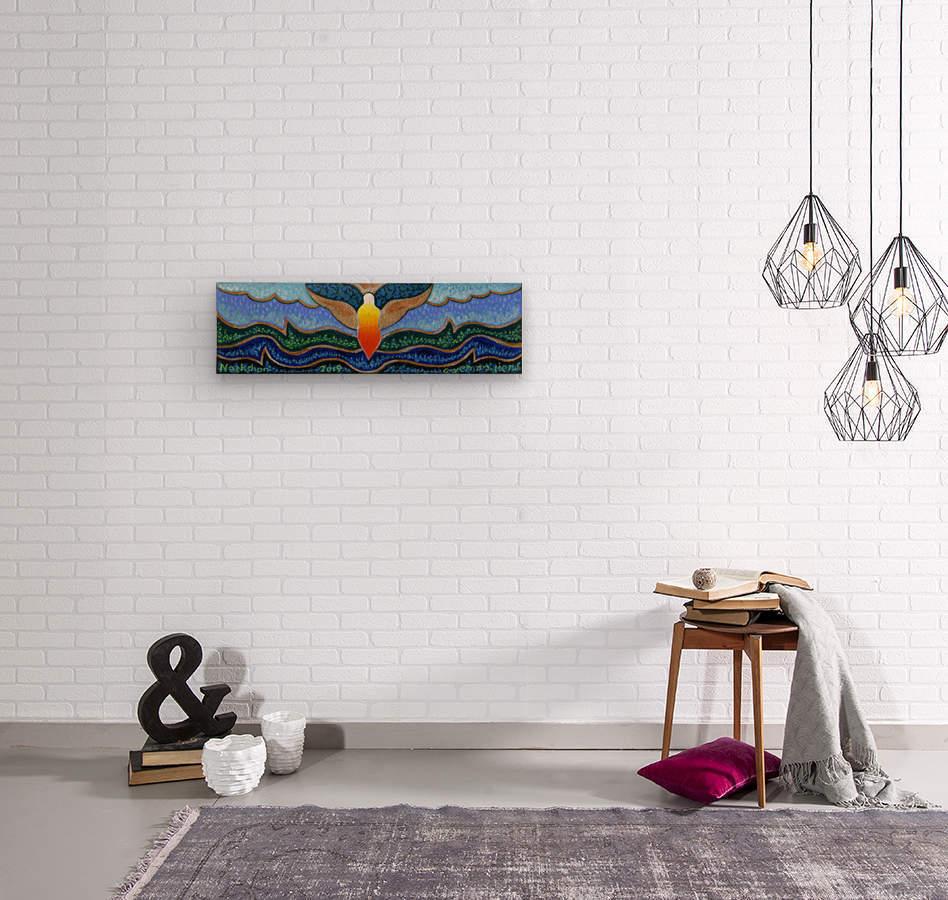 2019 016  Wood print