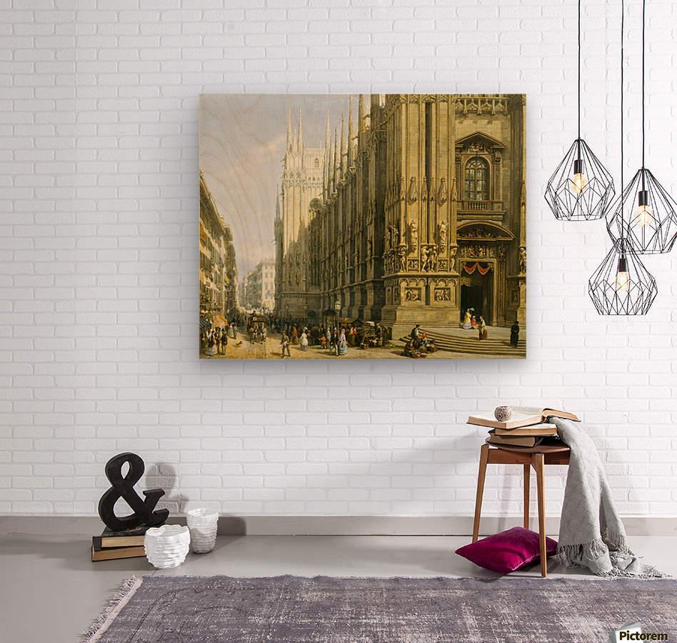 Il Duomo di Milano  Wood print