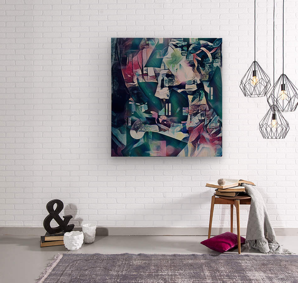 Crystal Parade Of The Jewel Fruits  Wood print