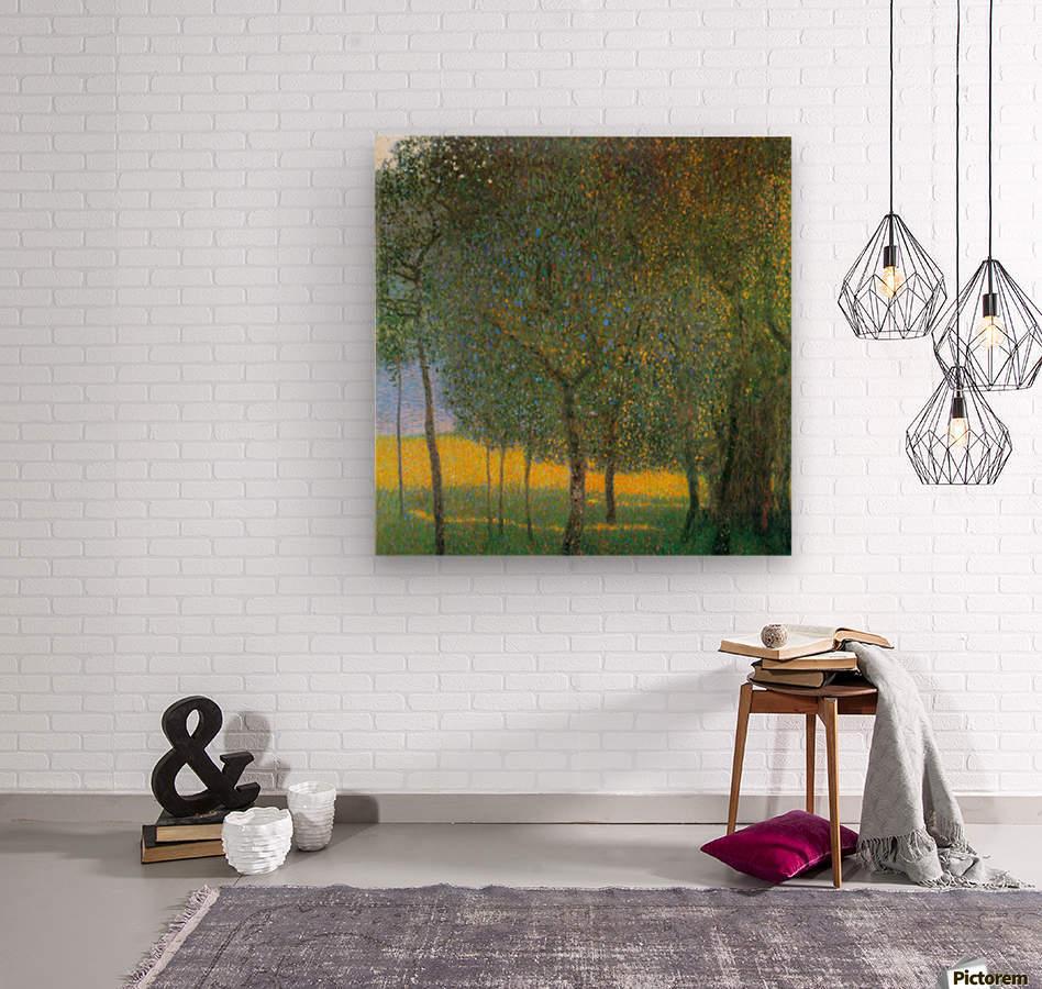 Fruit Trees by Klimt  Wood print