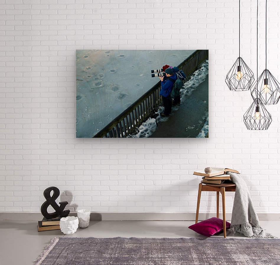 Photographers  Wood print