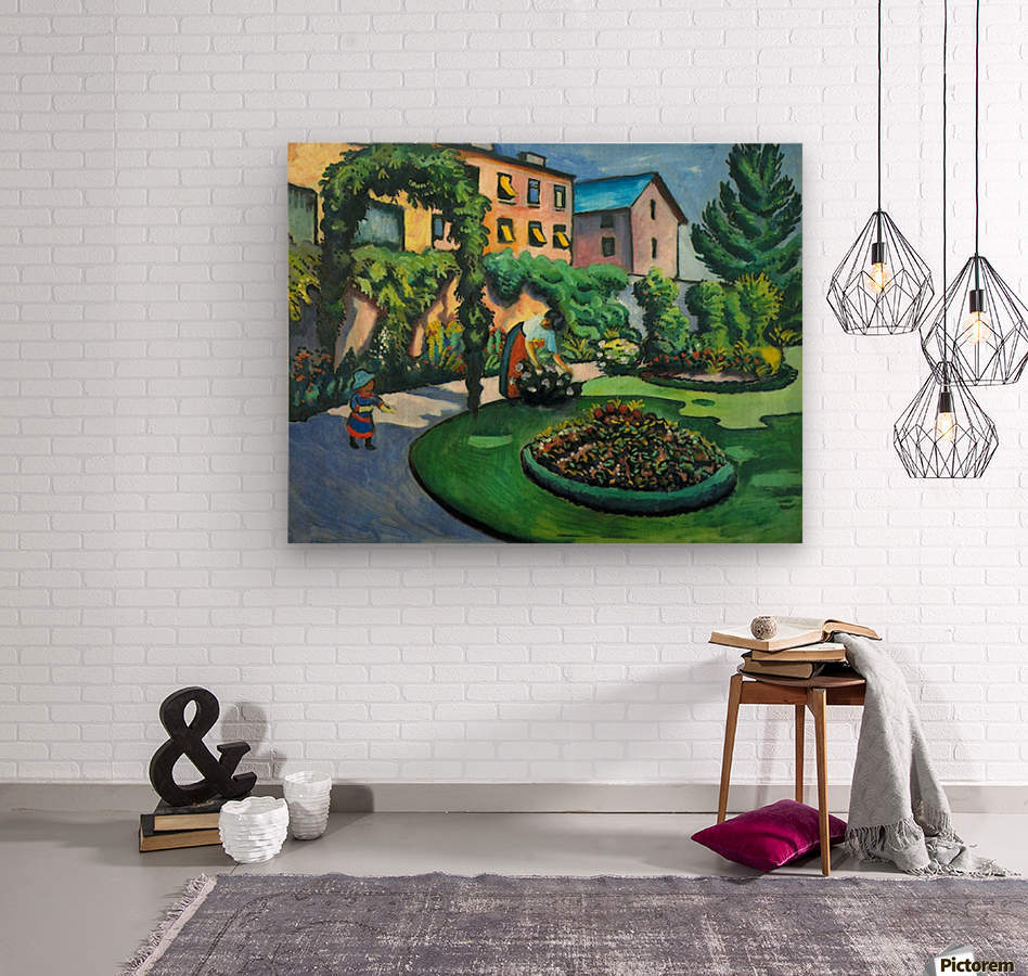 Garden image by Macke  Wood print