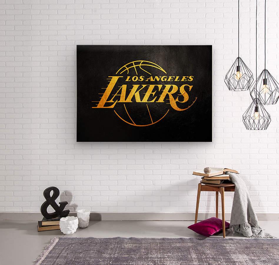 Lakers 2  Wood print