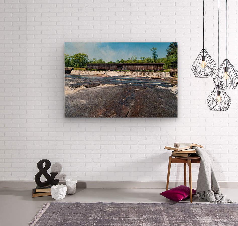 Watson Mill Bridge State Park   Comer GA 06860  Wood print
