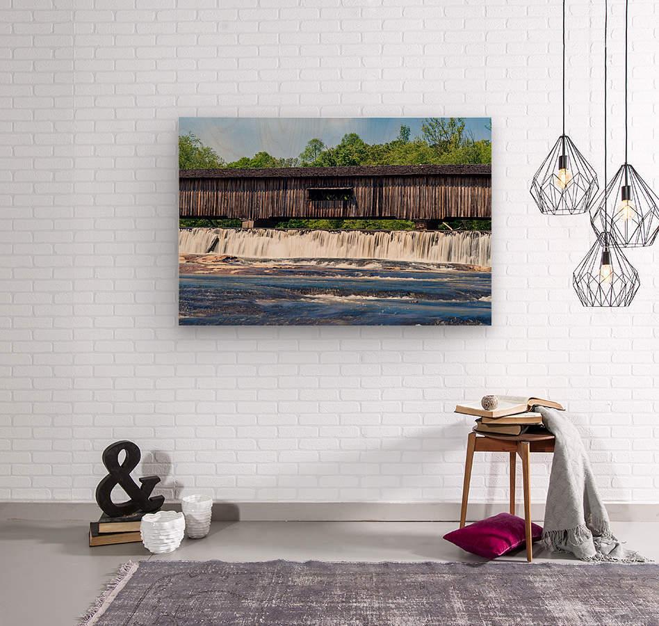 Watson Mill Bridge State Park   Comer GA 06715  Wood print