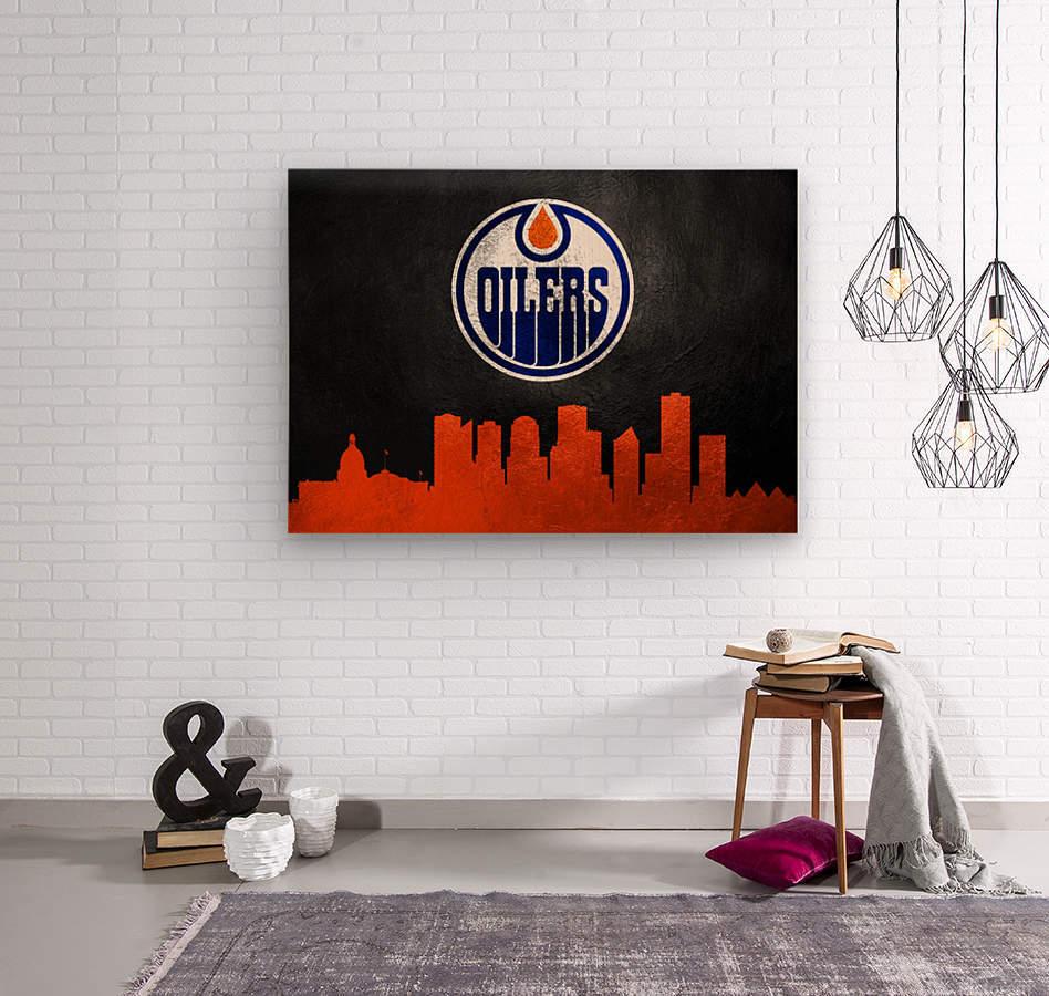 Edmonton Oilers  Wood print