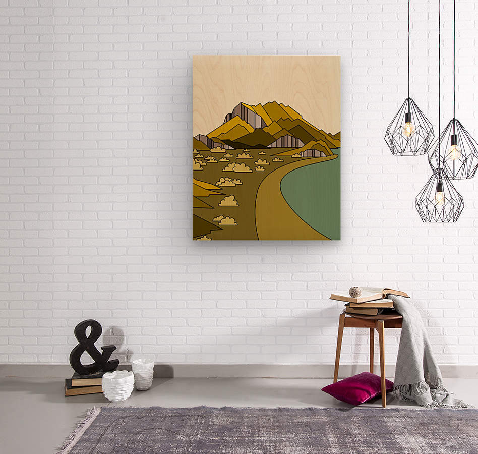 travel destination landscape nature  Wood print