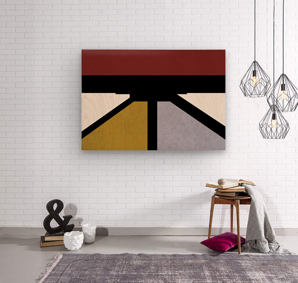 Bridge XV  Wood print
