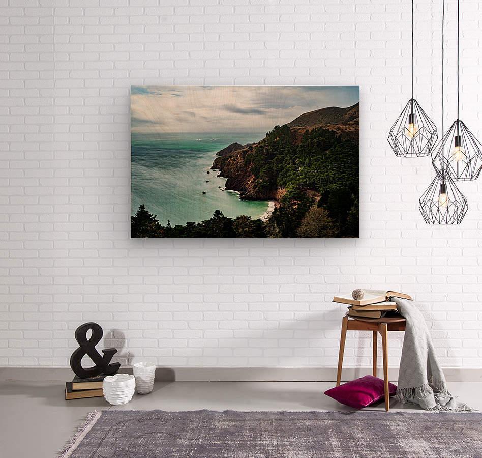 Kirby Cove  Wood print