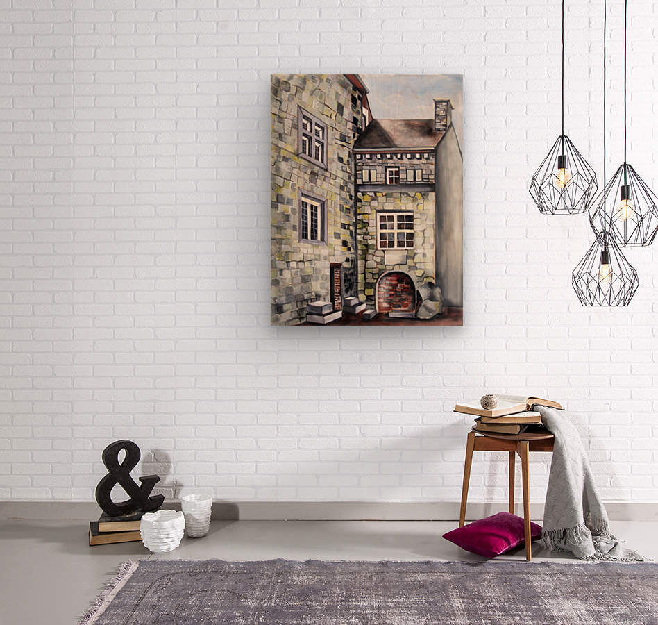 Liege Castle French Provenance   Wood print
