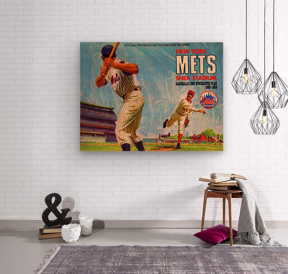 1969 New York Mets  Wood print