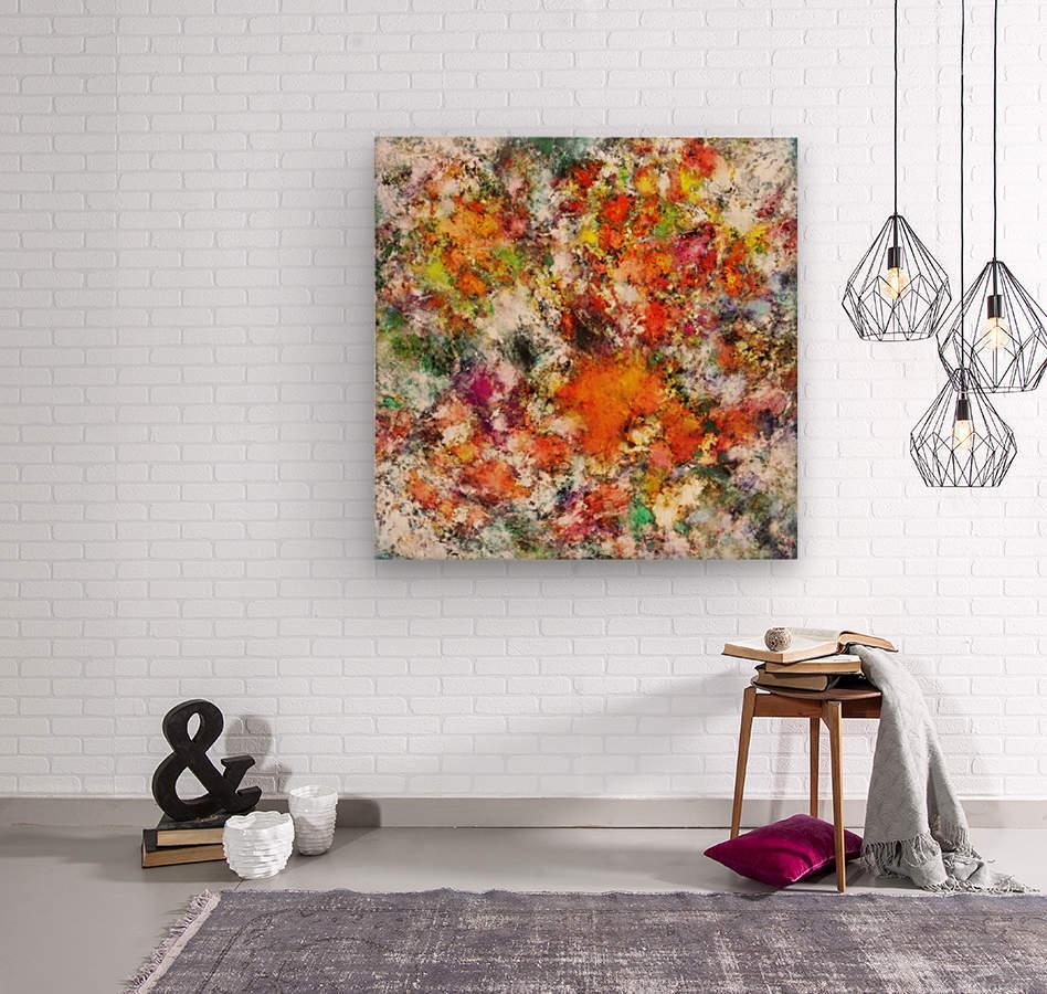 Spangle  Wood print