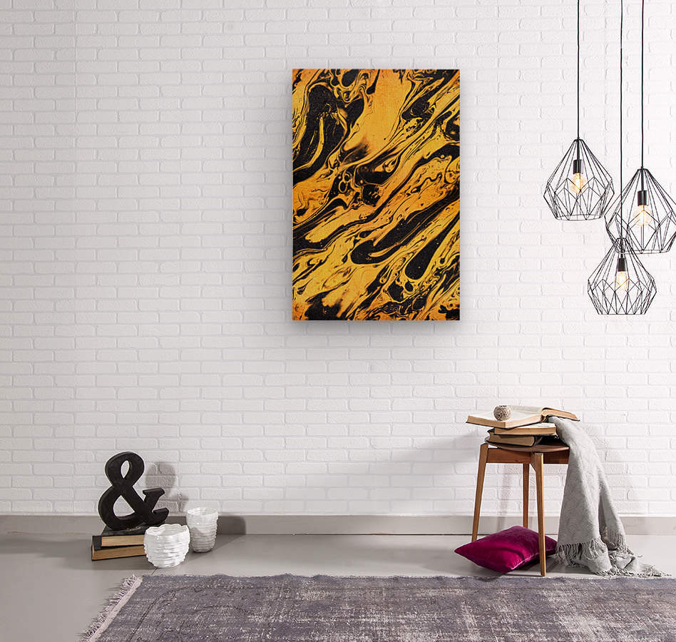 Marble XXXVI  Wood print