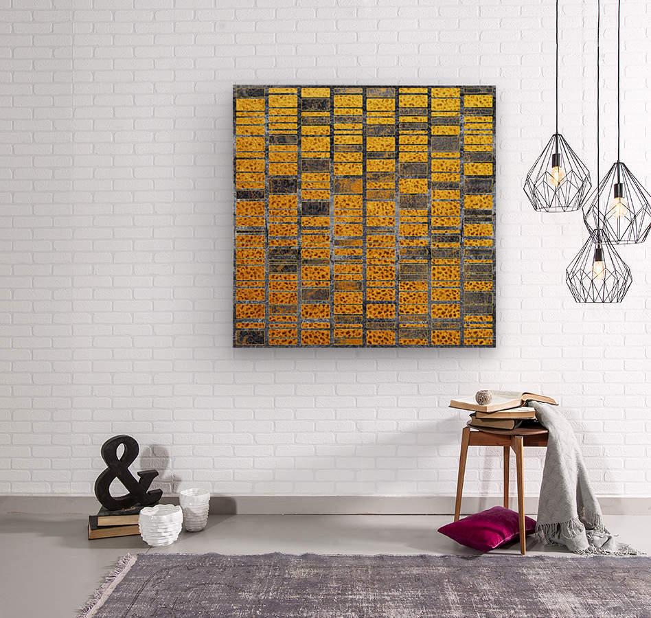 Marble XXXVII  Wood print
