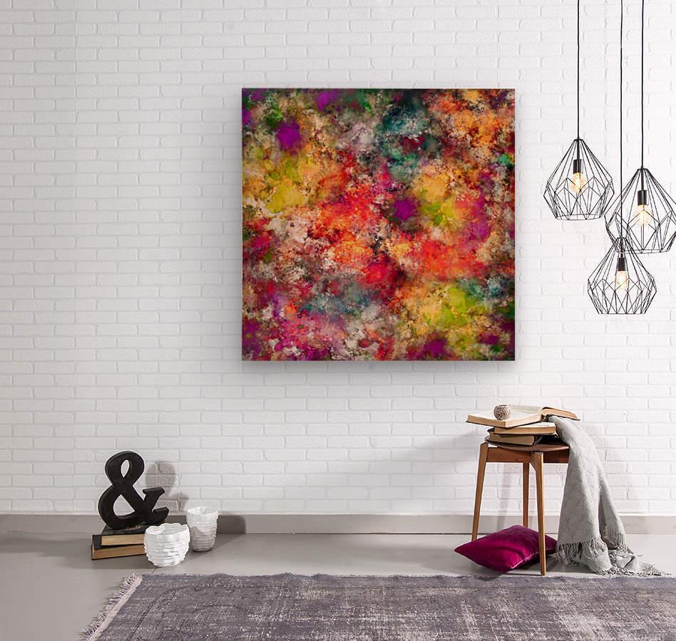 Tangle  Wood print