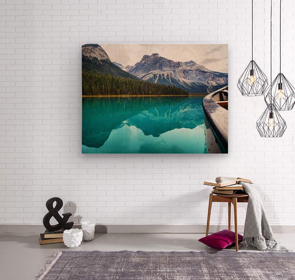 British Columbia  Wood print