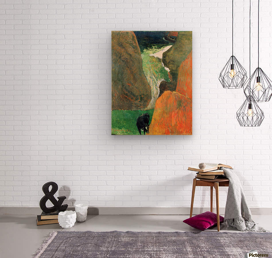 Hover Above the Abyss by Gauguin  Wood print