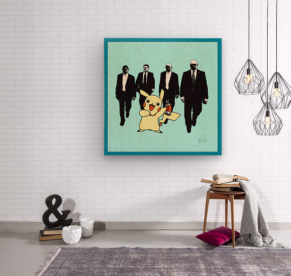 VIP  Wood print