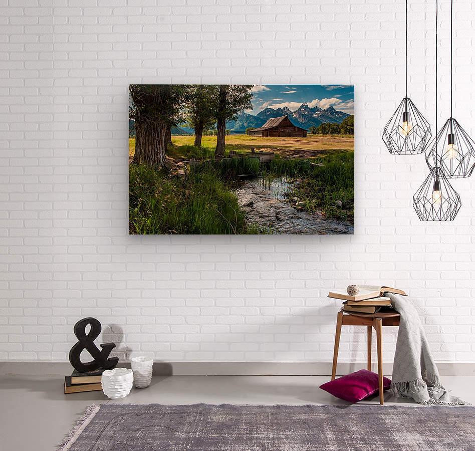 T.a. Moulton Barn - Grand Teton  Wood print