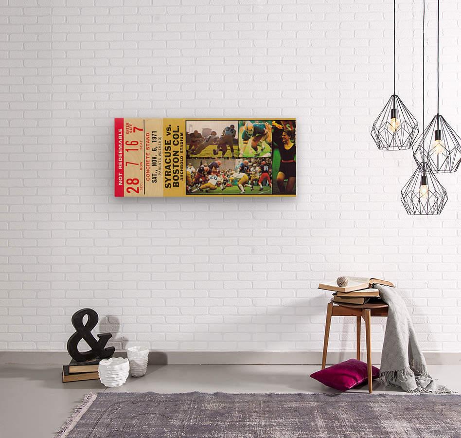 syracuse university gift ideas for college alumni  Wood print