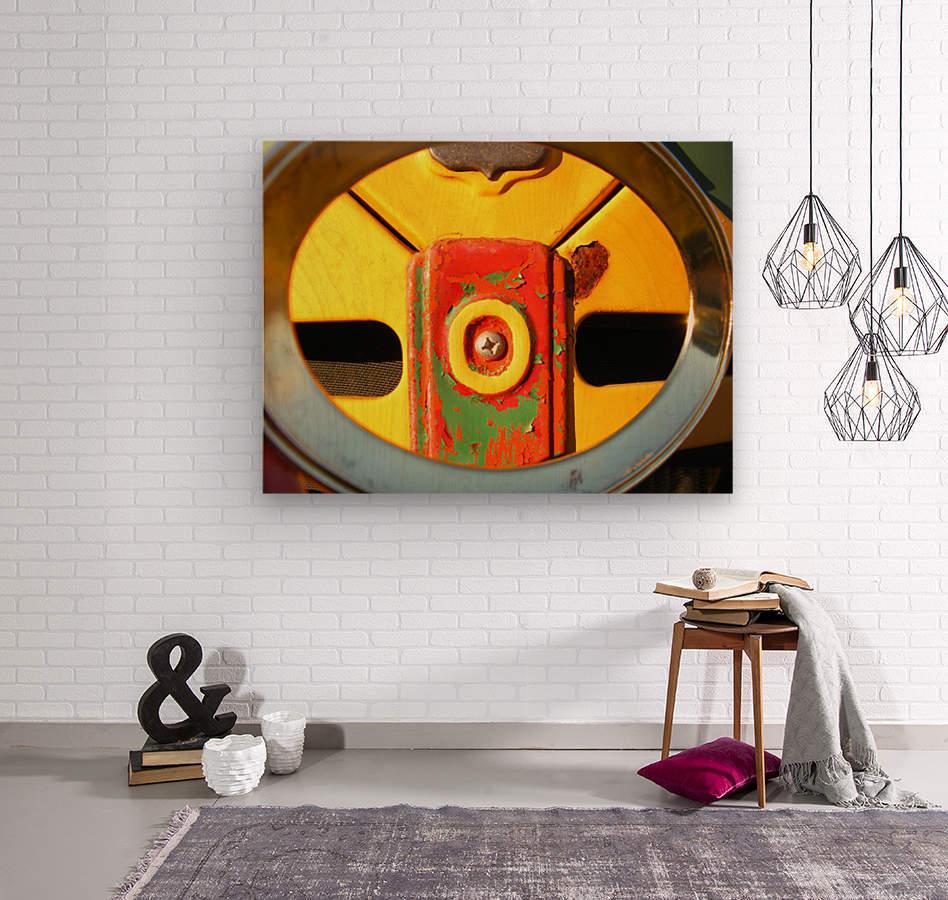 Rusted Love  Wood print