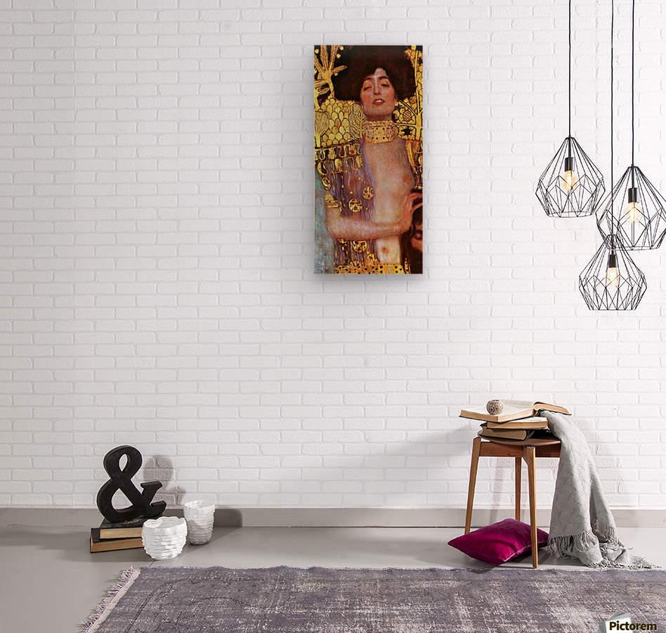 Judith by Klimt  Wood print